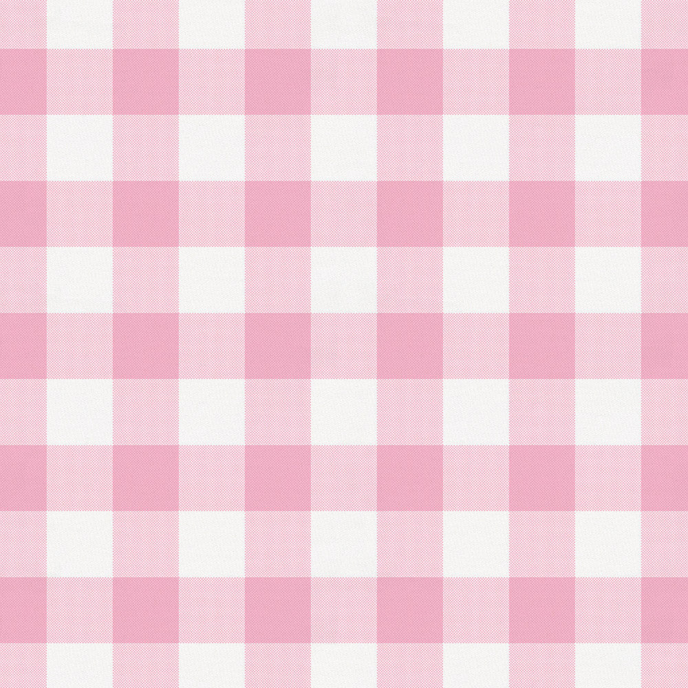 Product image for Bubblegum Gingham Throw Pillow