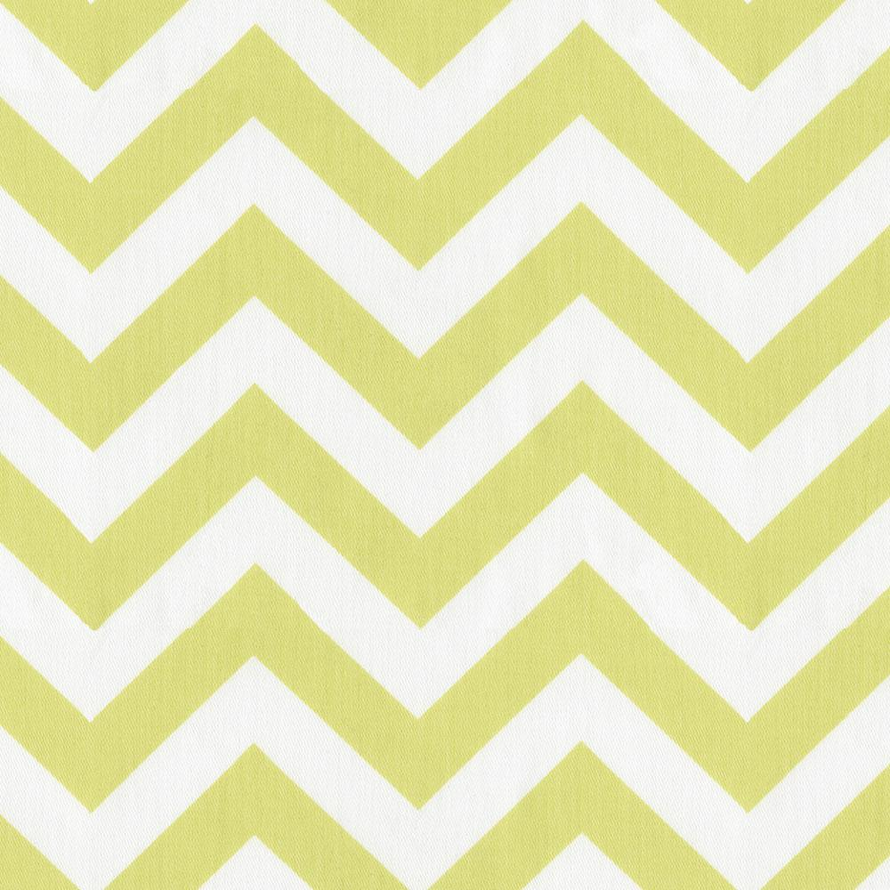 Product image for Light Lime Zig Zag Lumbar Pillow