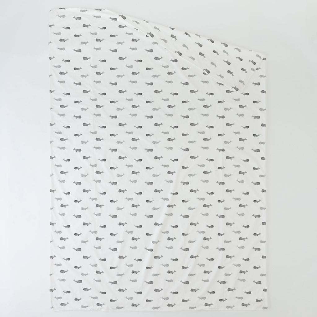 Product image for Gray Whale of a Tale Duvet Cover