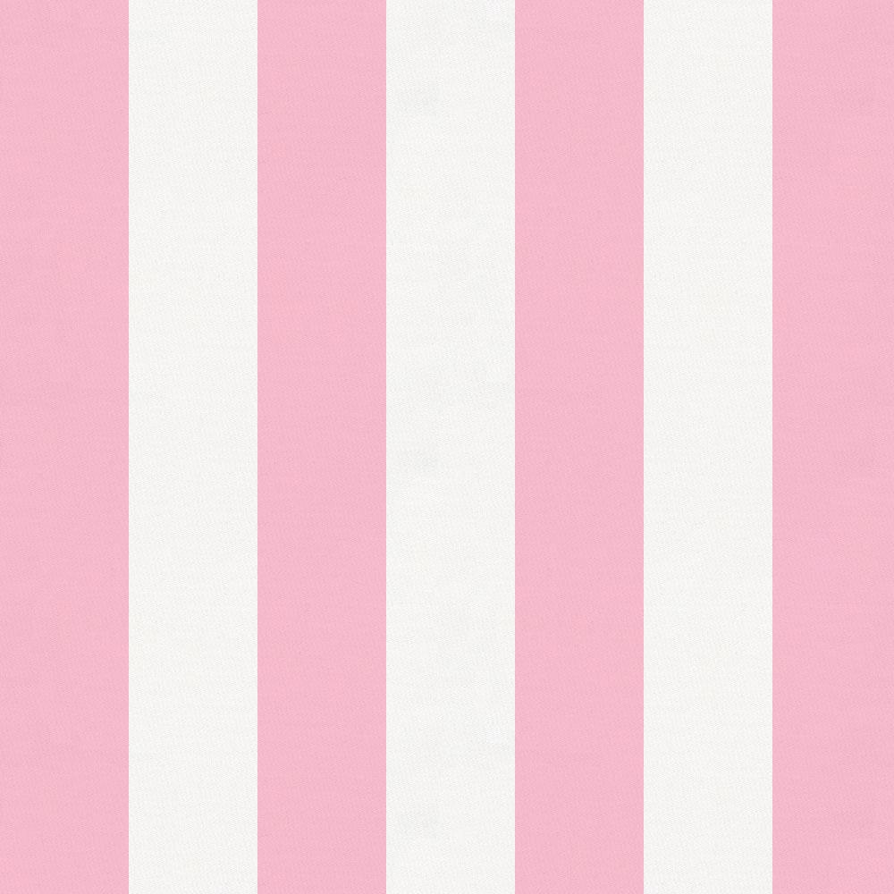 Product image for Bubblegum Pink Stripe Throw Pillow