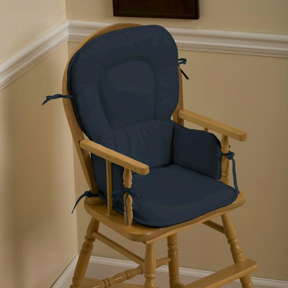 Product image for Solid Navy High Chair Pad