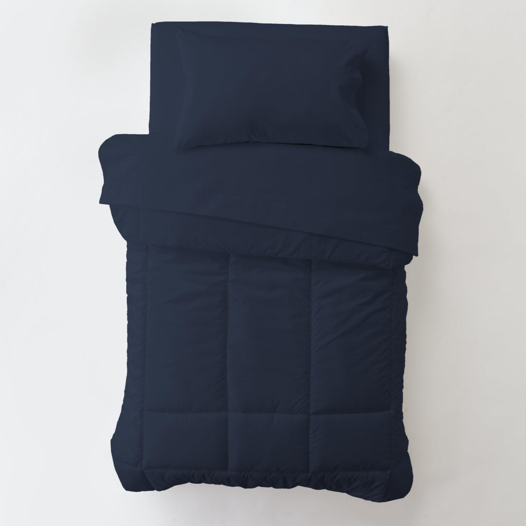 Product image for Solid Navy Toddler Comforter