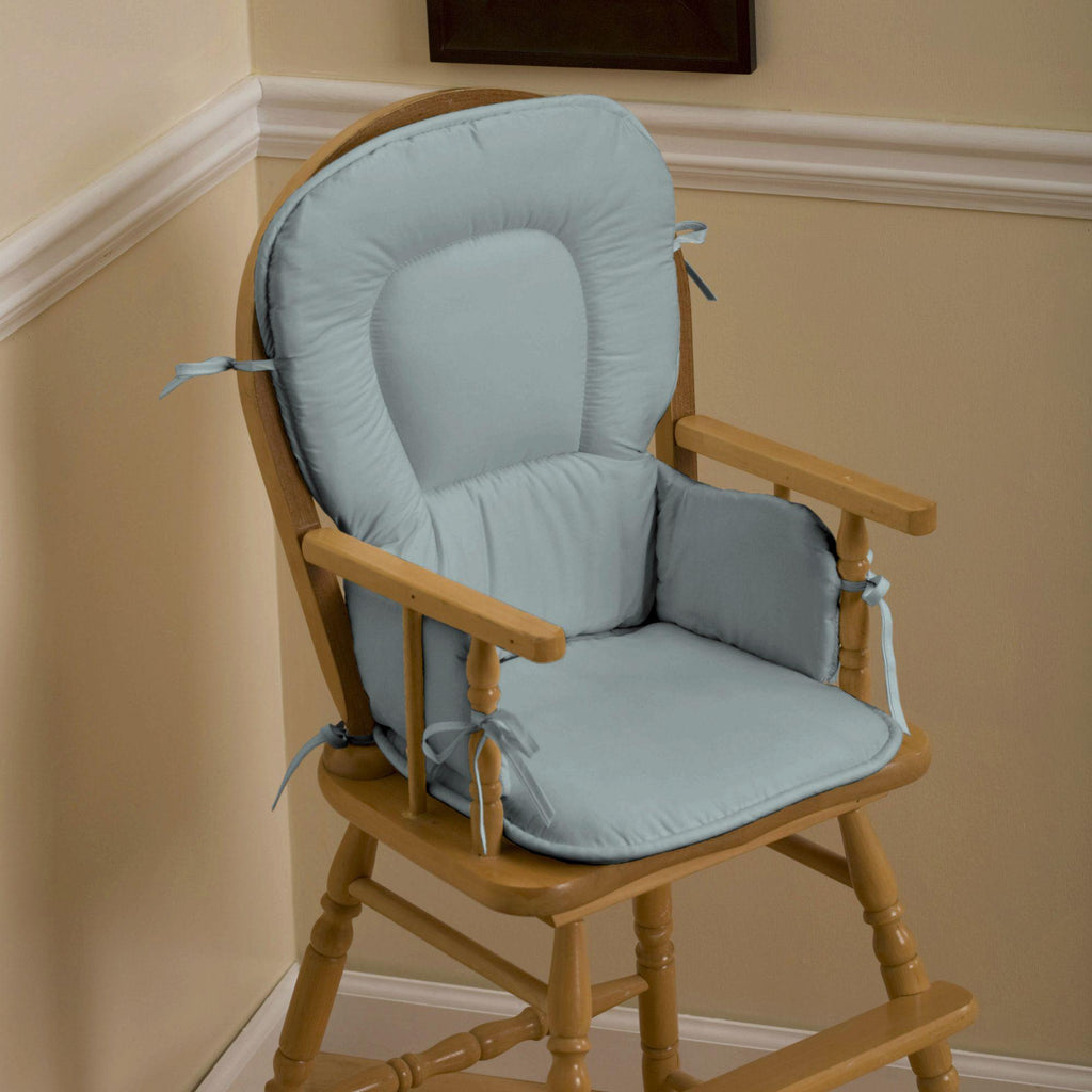 Product image for Solid Robin's Egg Blue High Chair Pad