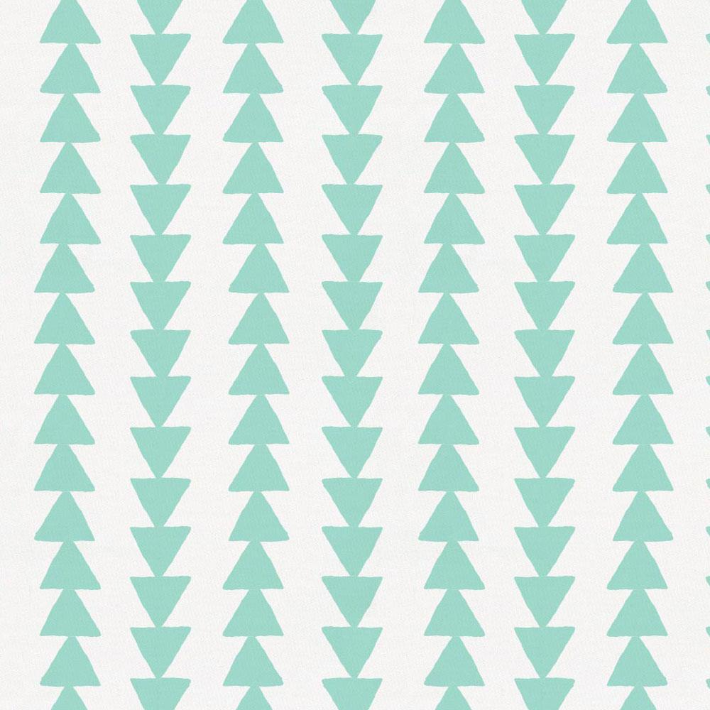 Product image for Mint Arrow Stripe Drape Panel