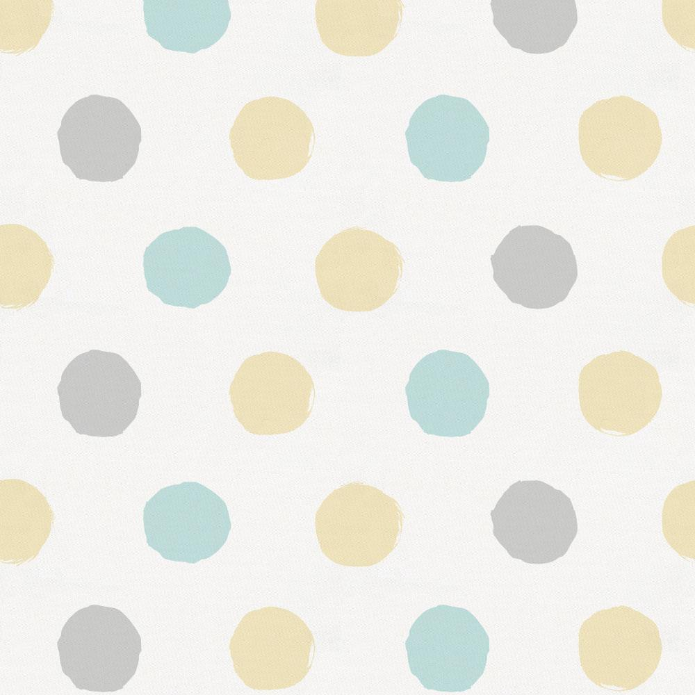 Product image for Mist and Gray Brush Dots Pillow Sham