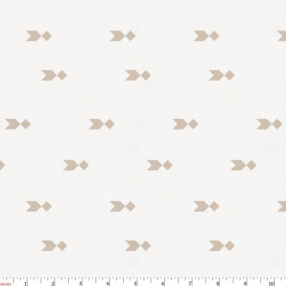 Product image for Taupe Flying Diamonds Fabric