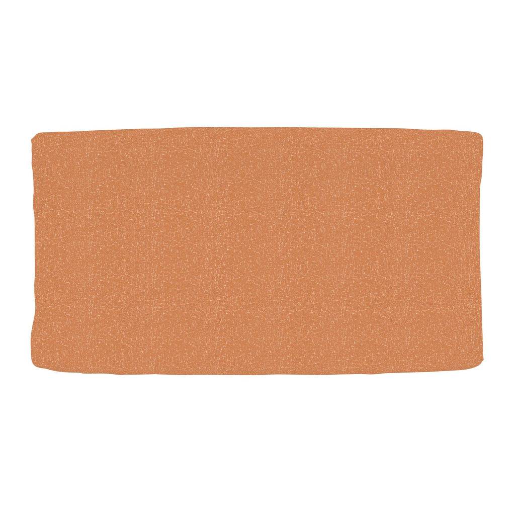 Product image for Fox Orange Heather Changing Pad Cover