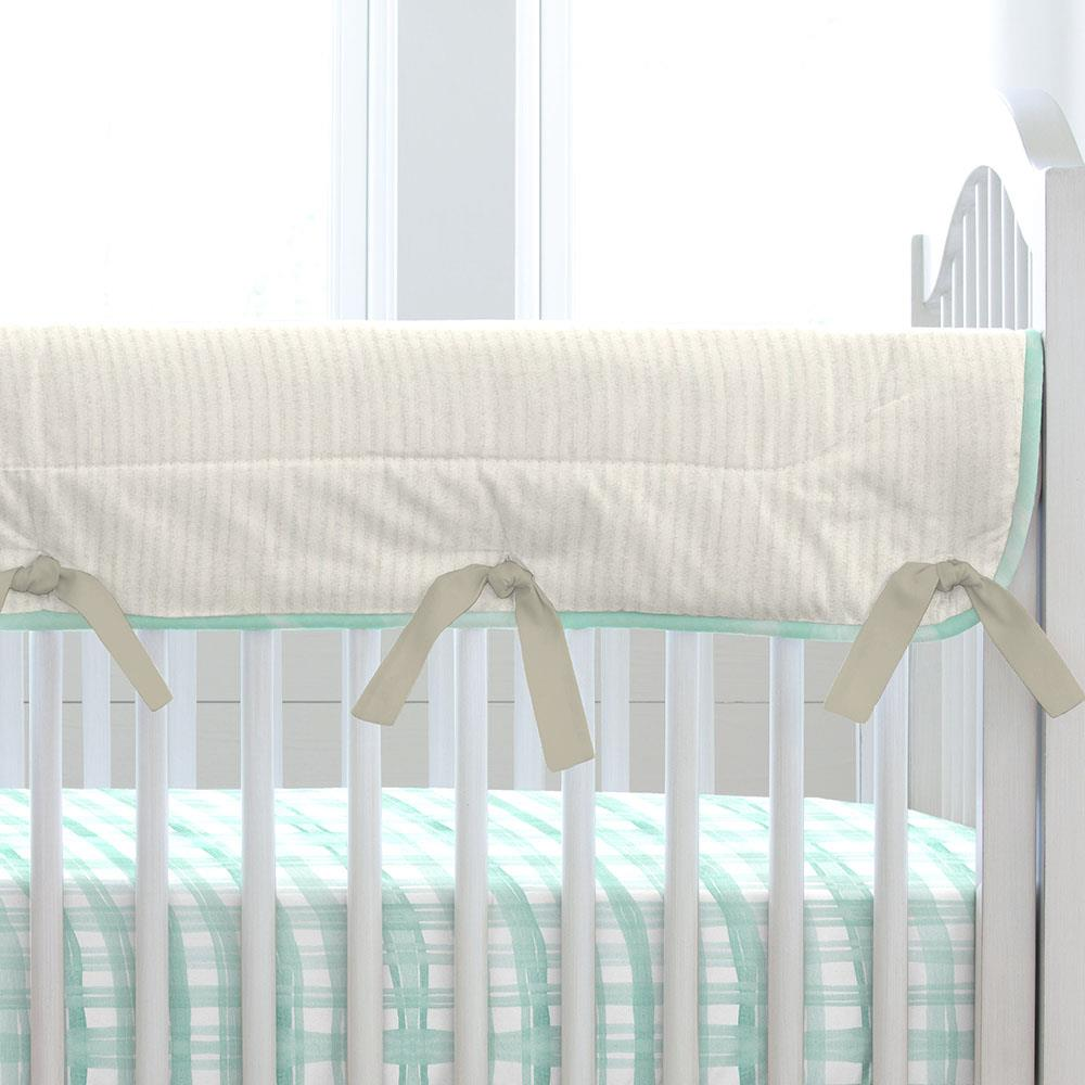 Product image for Watercolor Rabbits Crib Rail Cover