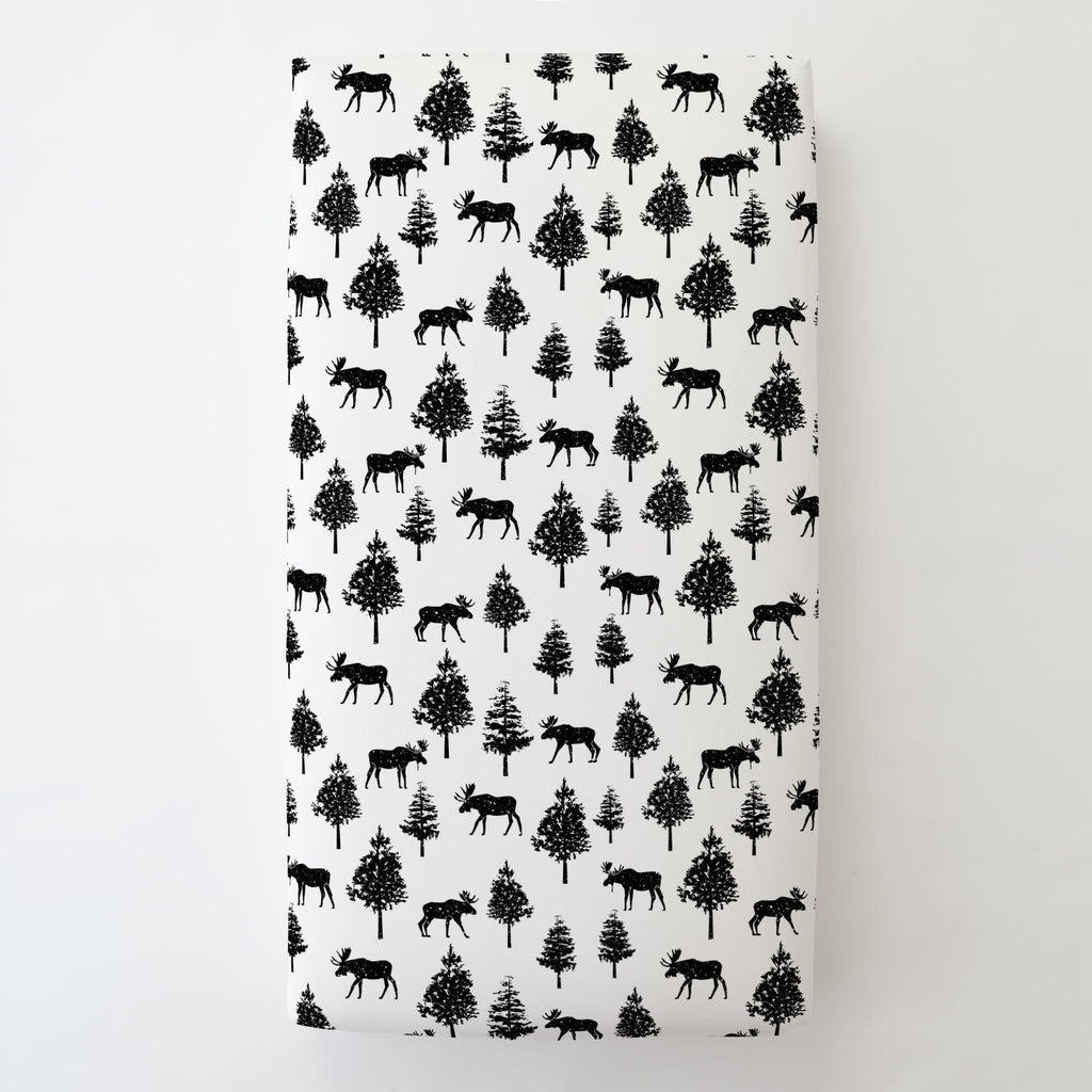 Product image for Onyx Moose Toddler Sheet Bottom Fitted