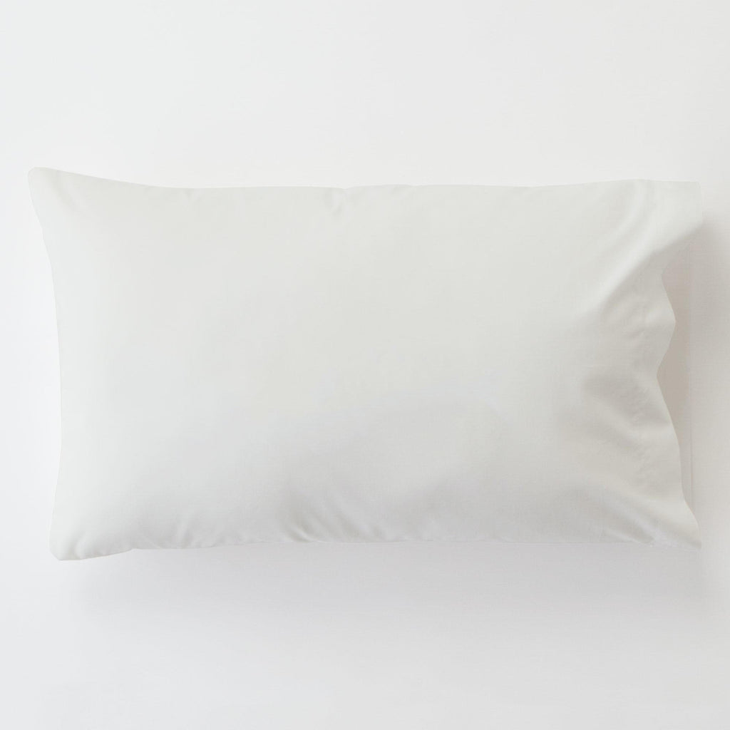 Product image for Solid Antique White Toddler Pillow Case