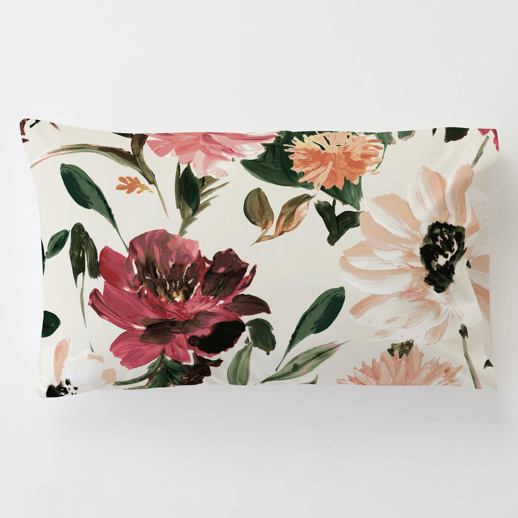 Product image for Moody Floral Toddler Pillow Case