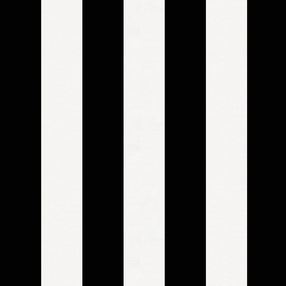 Product image for Onyx and White Stripe Drape Panel