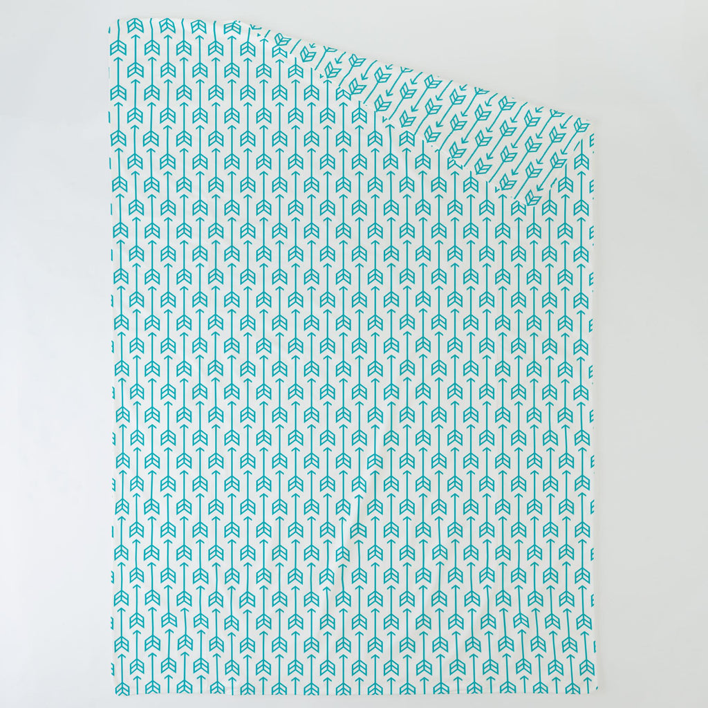Product image for Teal Arrow Duvet Cover