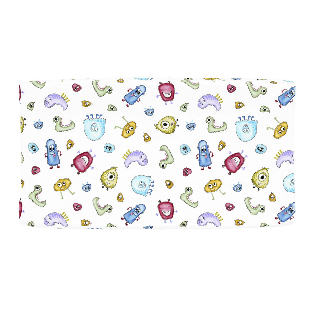 Product image for Watercolor Monsters Changing Pad Cover