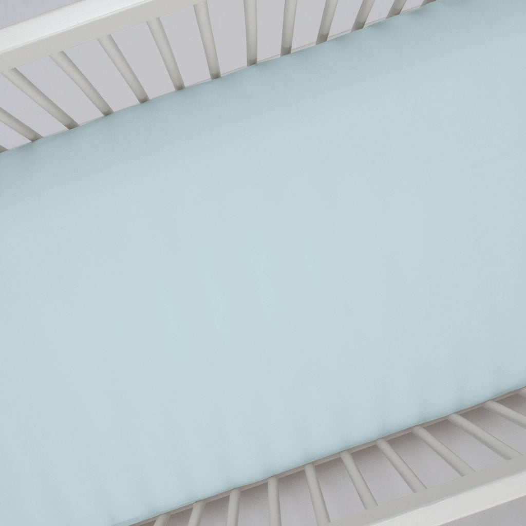Product image for Solid Mist Crib Sheet