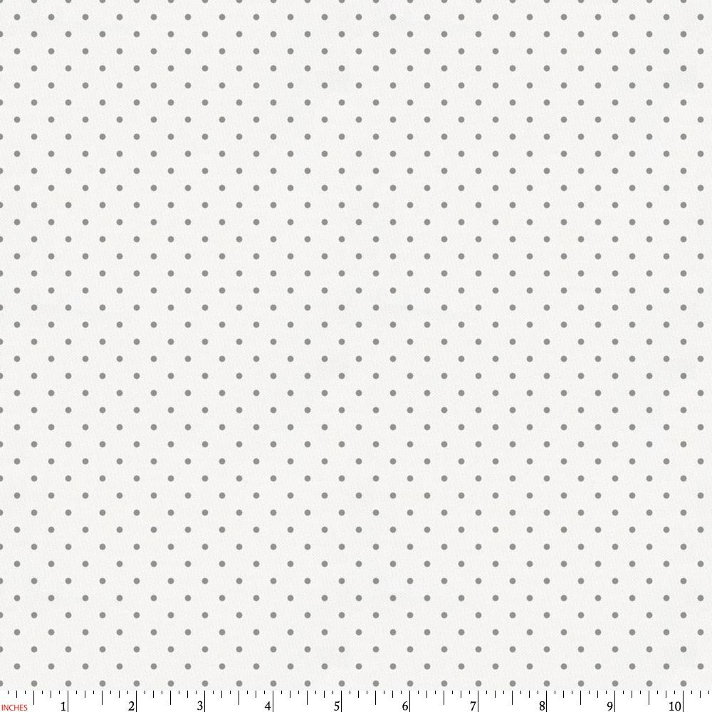 Product image for Cloud Gray Pin Dot Fabric