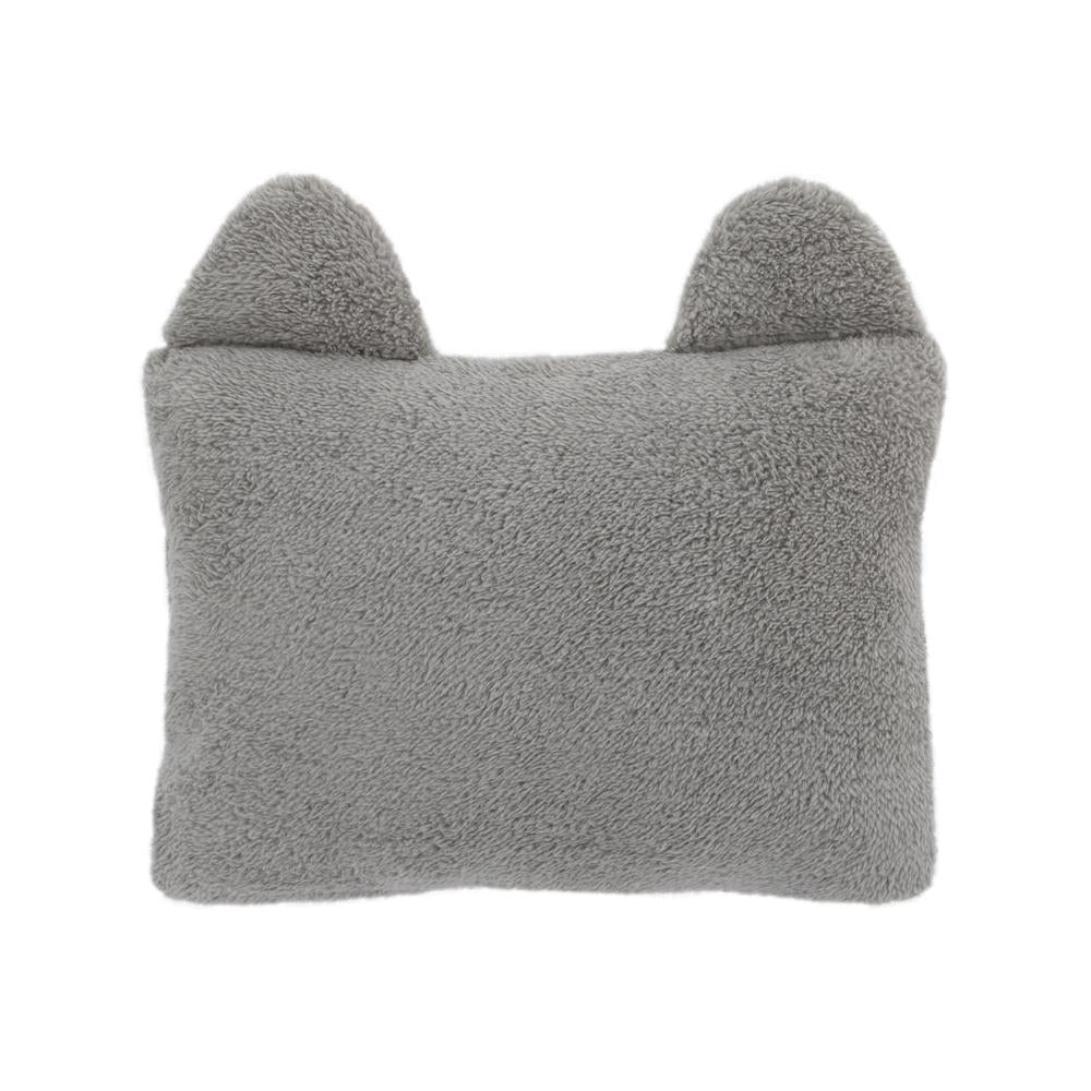 Product image for Plush Sherpa Raccoon Decorative Pillow