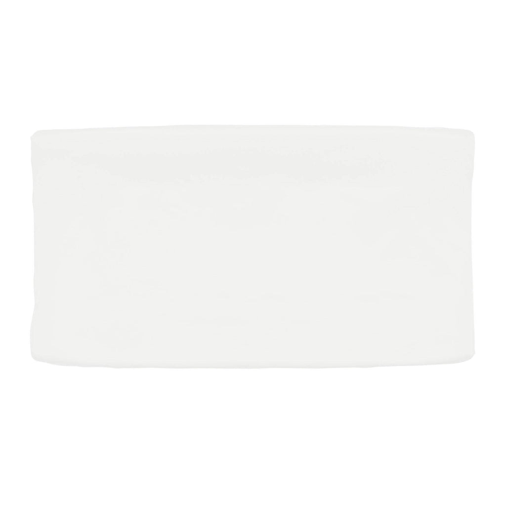 Product image for Solid Antique White Changing Pad Cover
