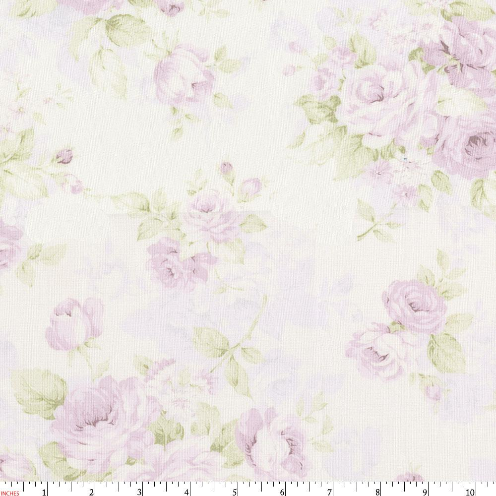 Product image for Lavender Floral Fabric