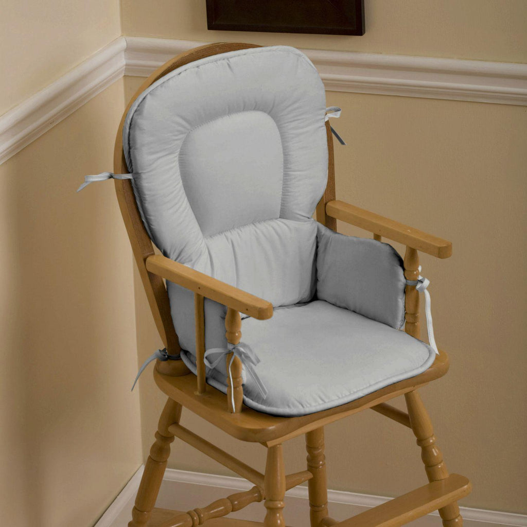 Product image for Solid Silver Gray High Chair Pad