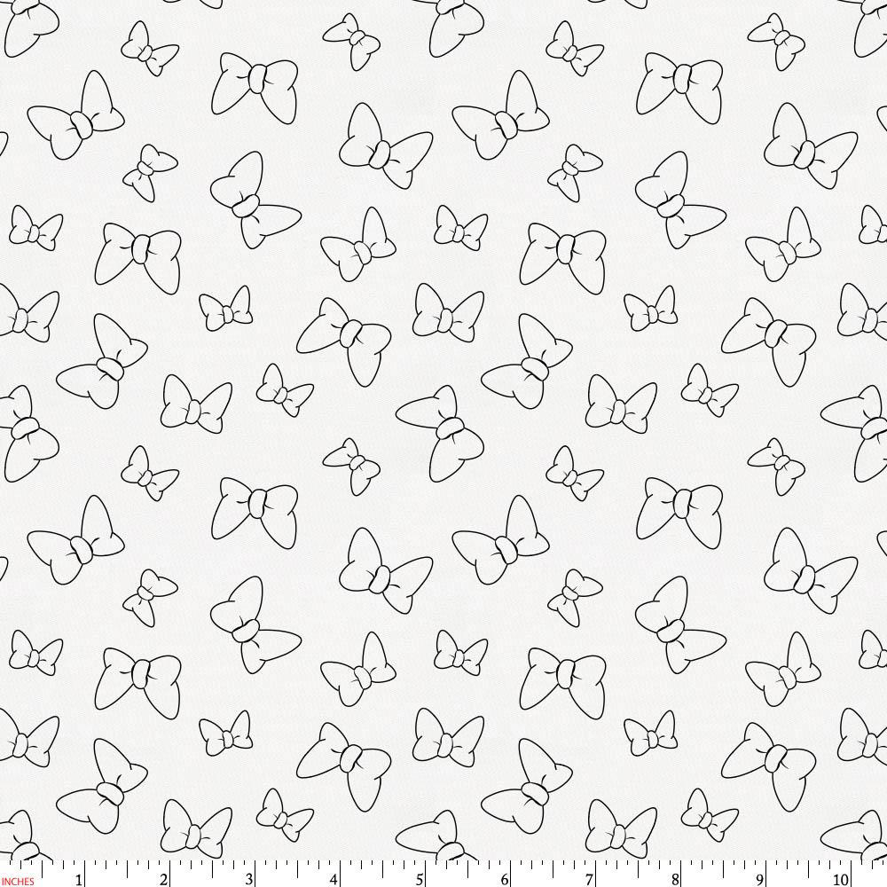 Product image for Disney© Onyx Minnie Bows Fabric