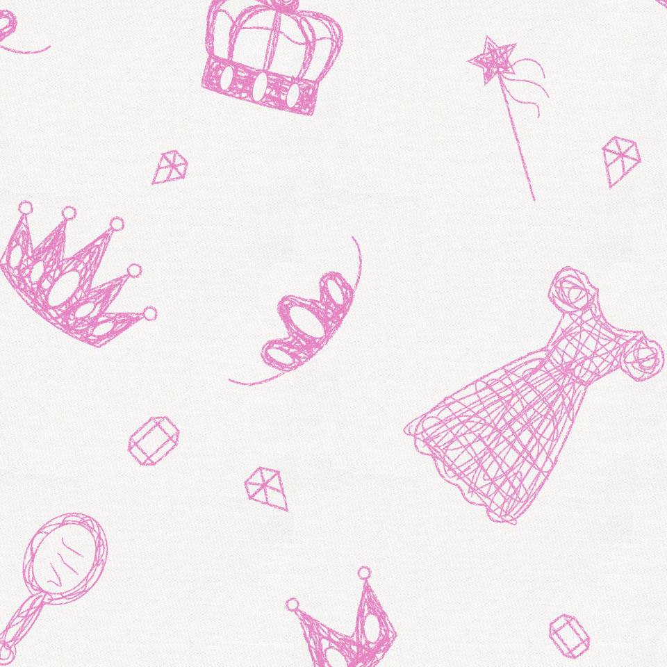 Product image for Hot Pink Princess Baby Play Mat