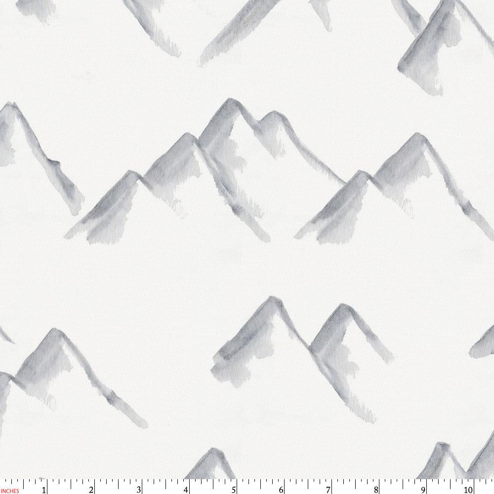 Product image for Watercolor Mountains Fabric