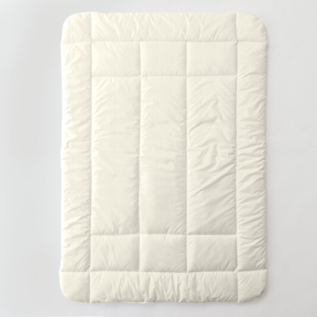Product image for Solid Ivory Toddler Comforter