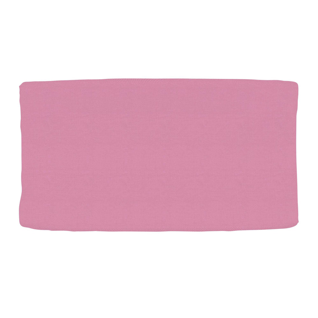 Product image for Solid Hot Pink Changing Pad Cover