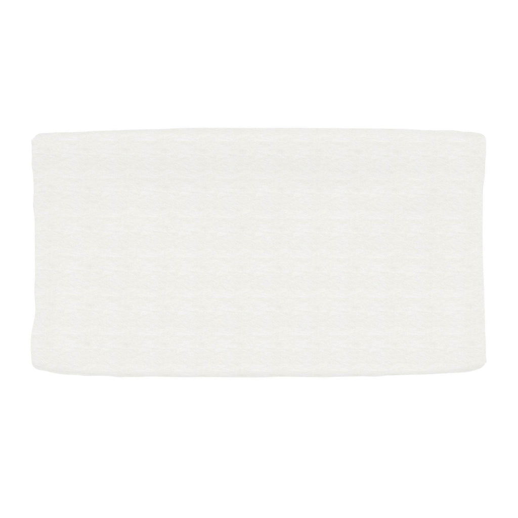 Product image for Solid White Minky Changing Pad Cover