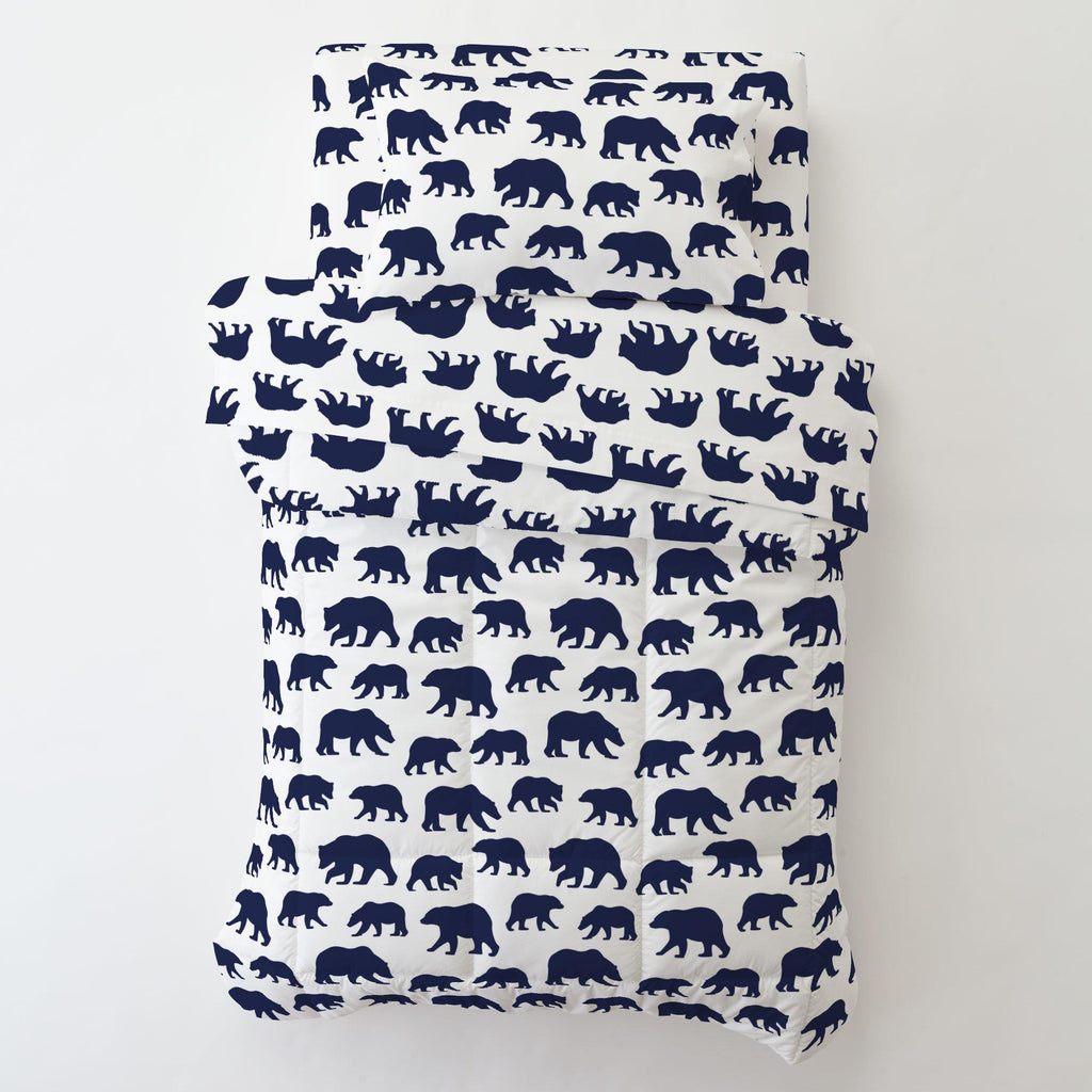 Product image for Navy Bears Toddler Comforter