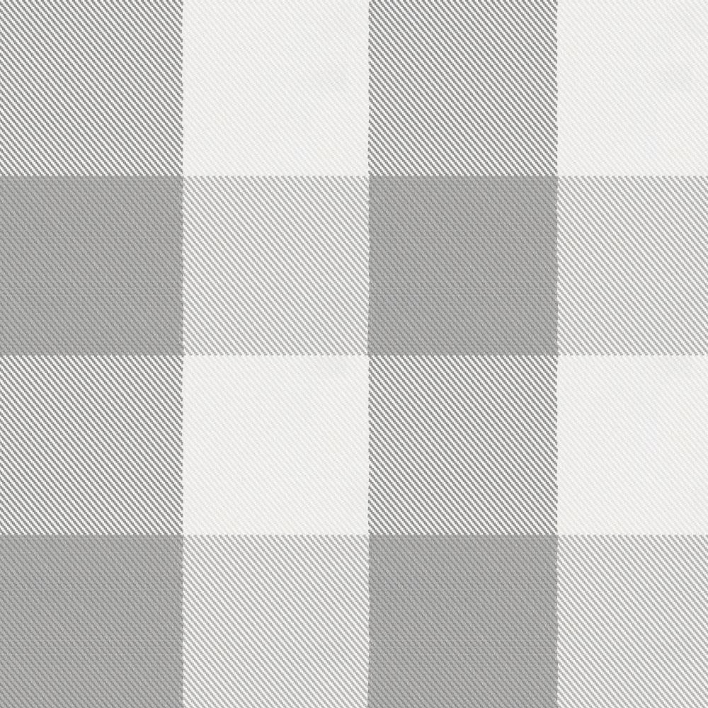 Product image for Gray Buffalo Check Drape Panel