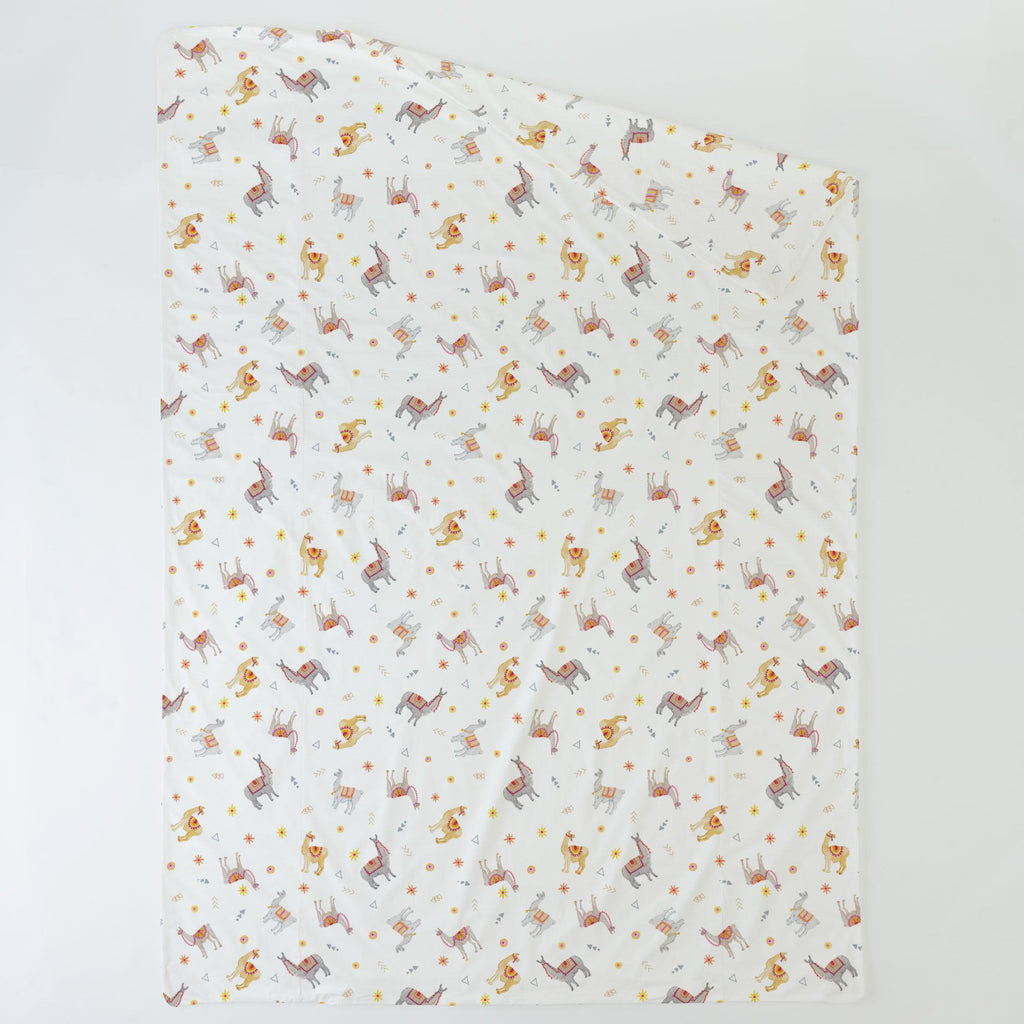 Product image for Festive Llamas Duvet Cover