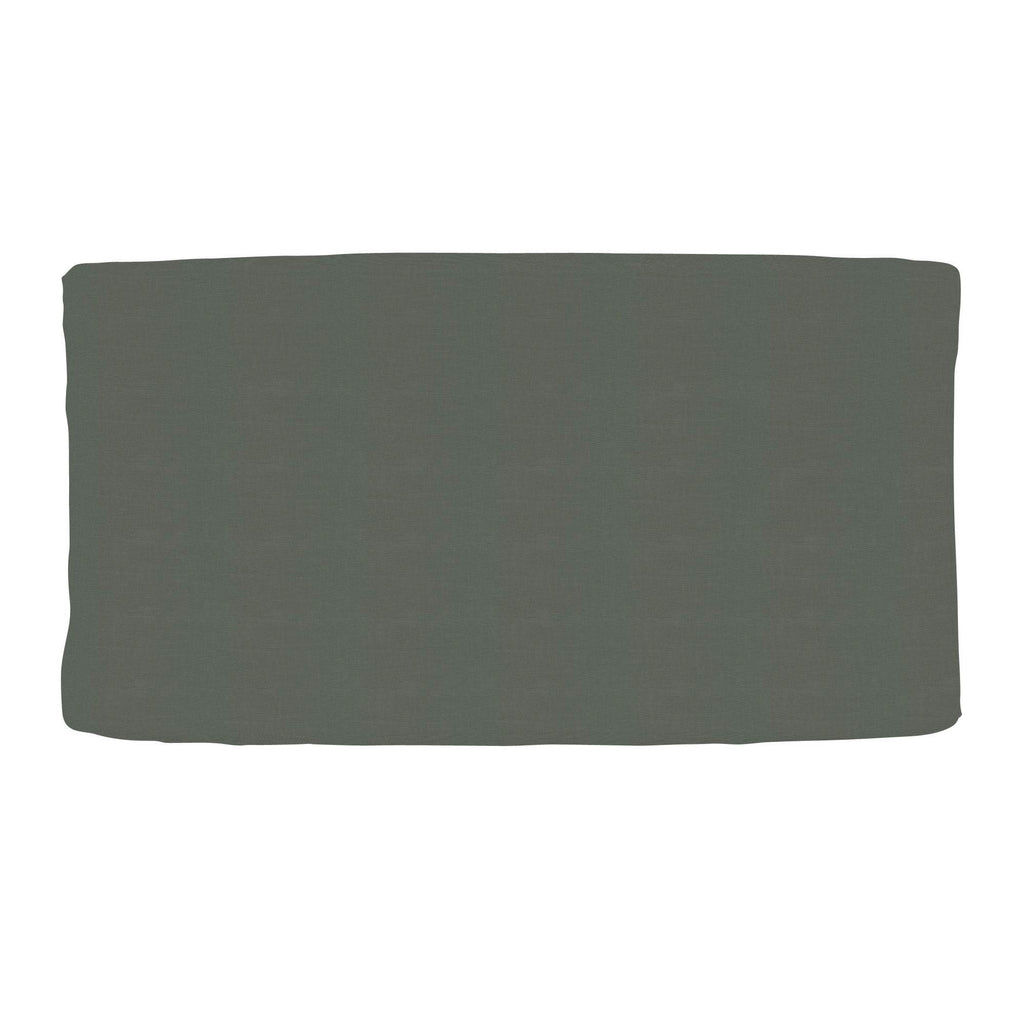 Product image for Solid Slate Gray Changing Pad Cover