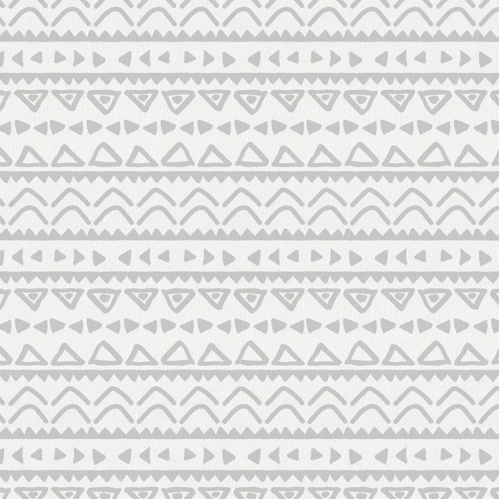 Product image for Silver Gray Baby Aztec Crib Comforter