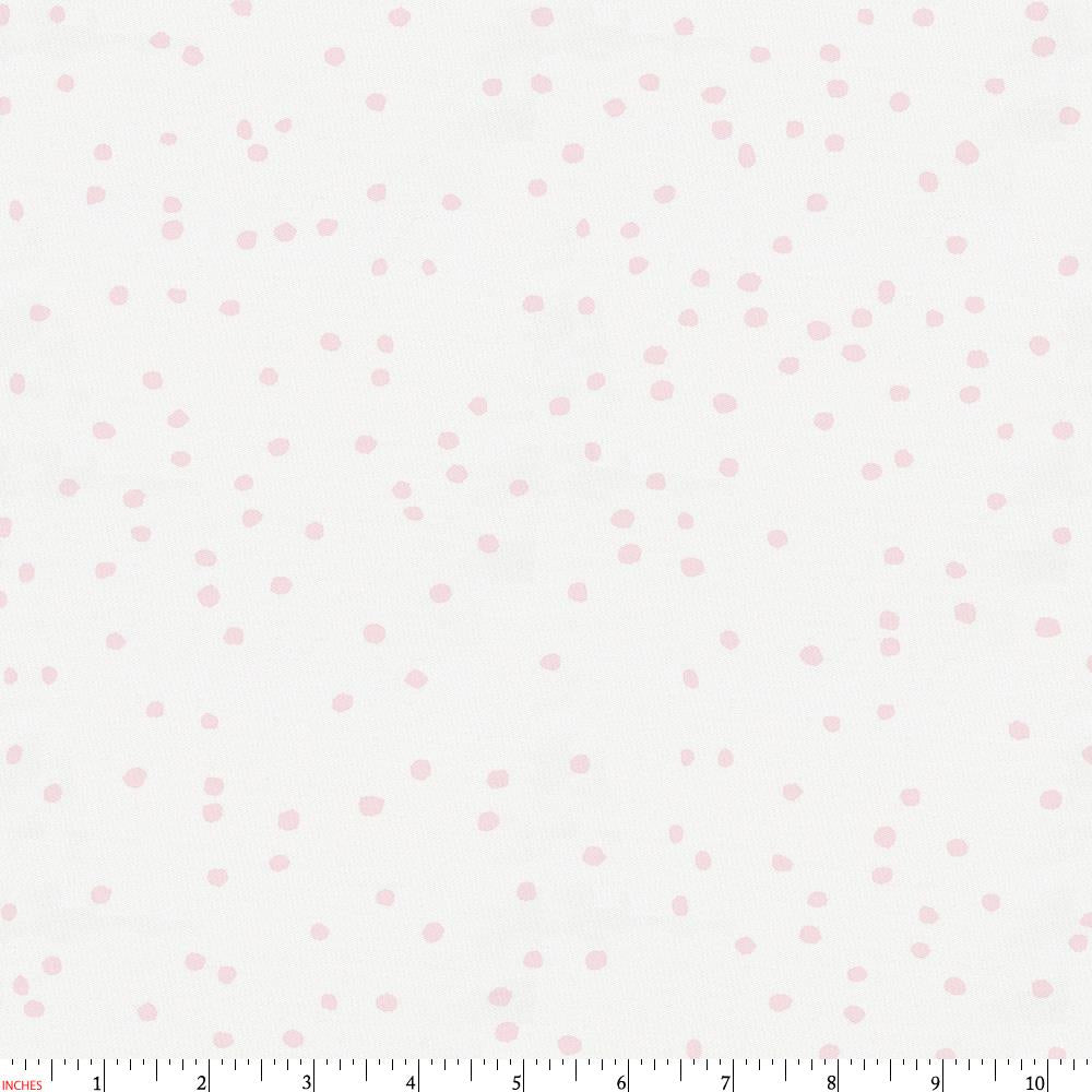 Product image for Pink Snowfall Fabric