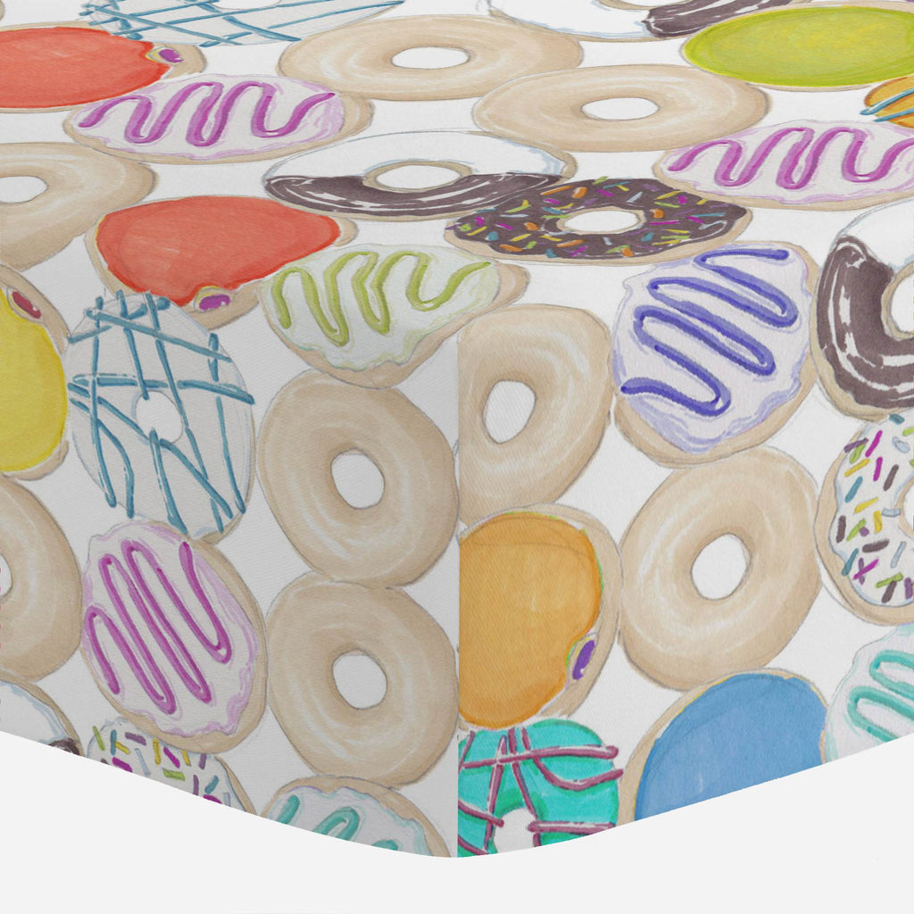 Product image for Donuts Mini Crib Sheet
