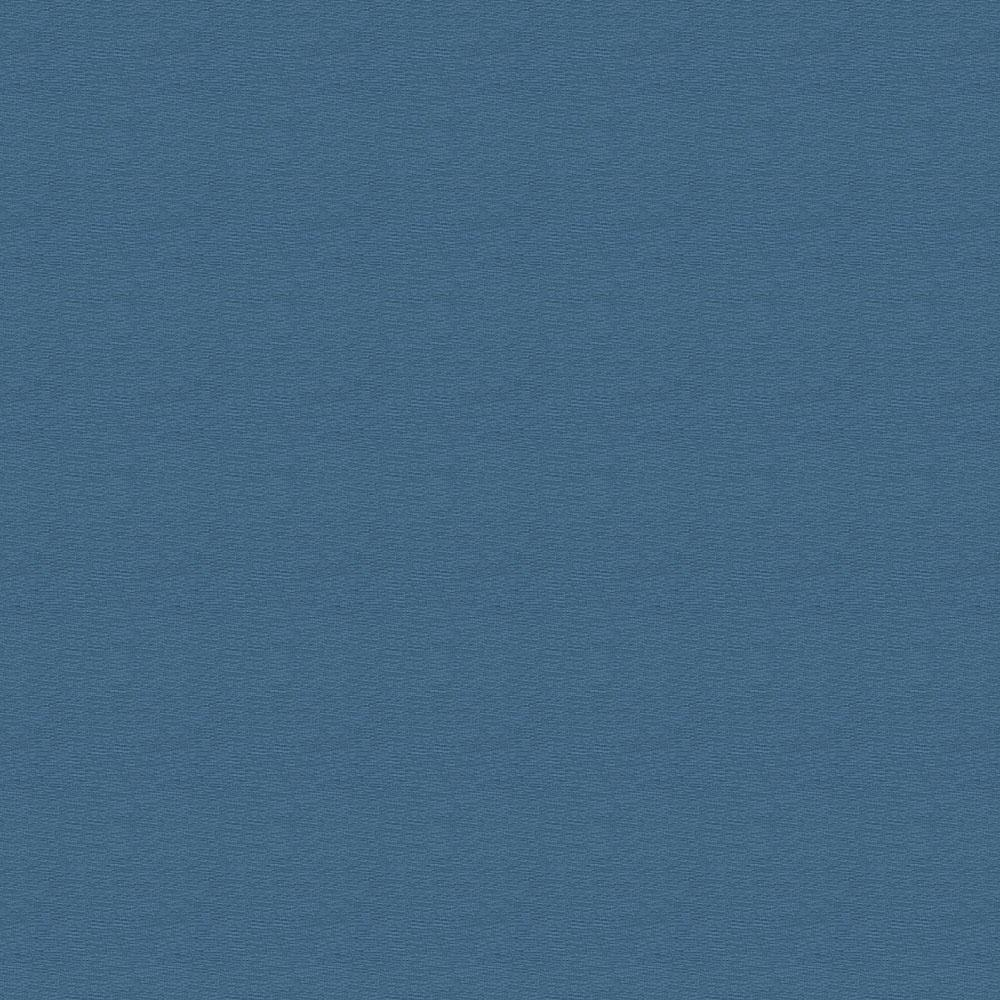 Product image for Solid Denim Blue Crib Skirt Single-Pleat with Trim