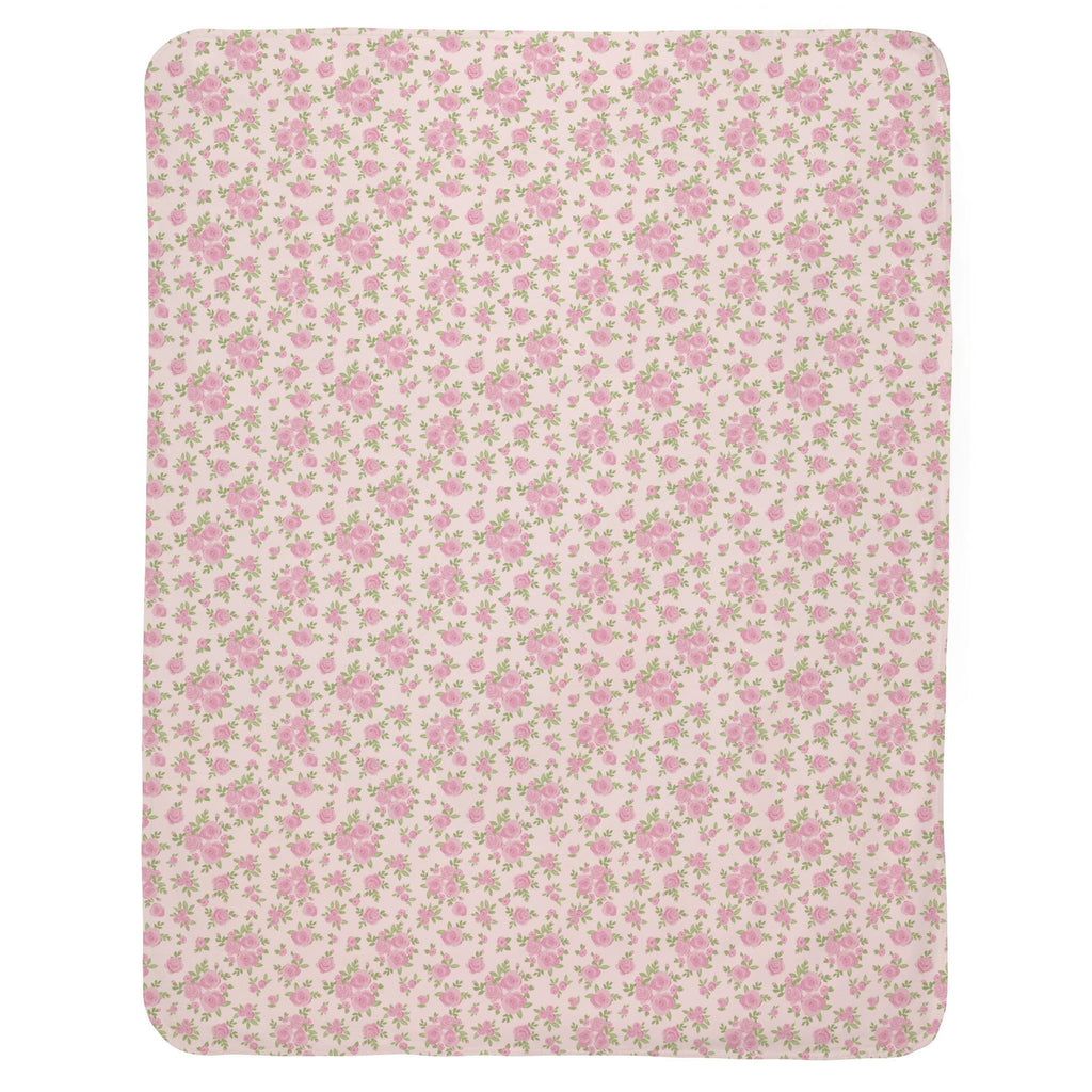 Product image for Pink Rosettes Baby Blanket