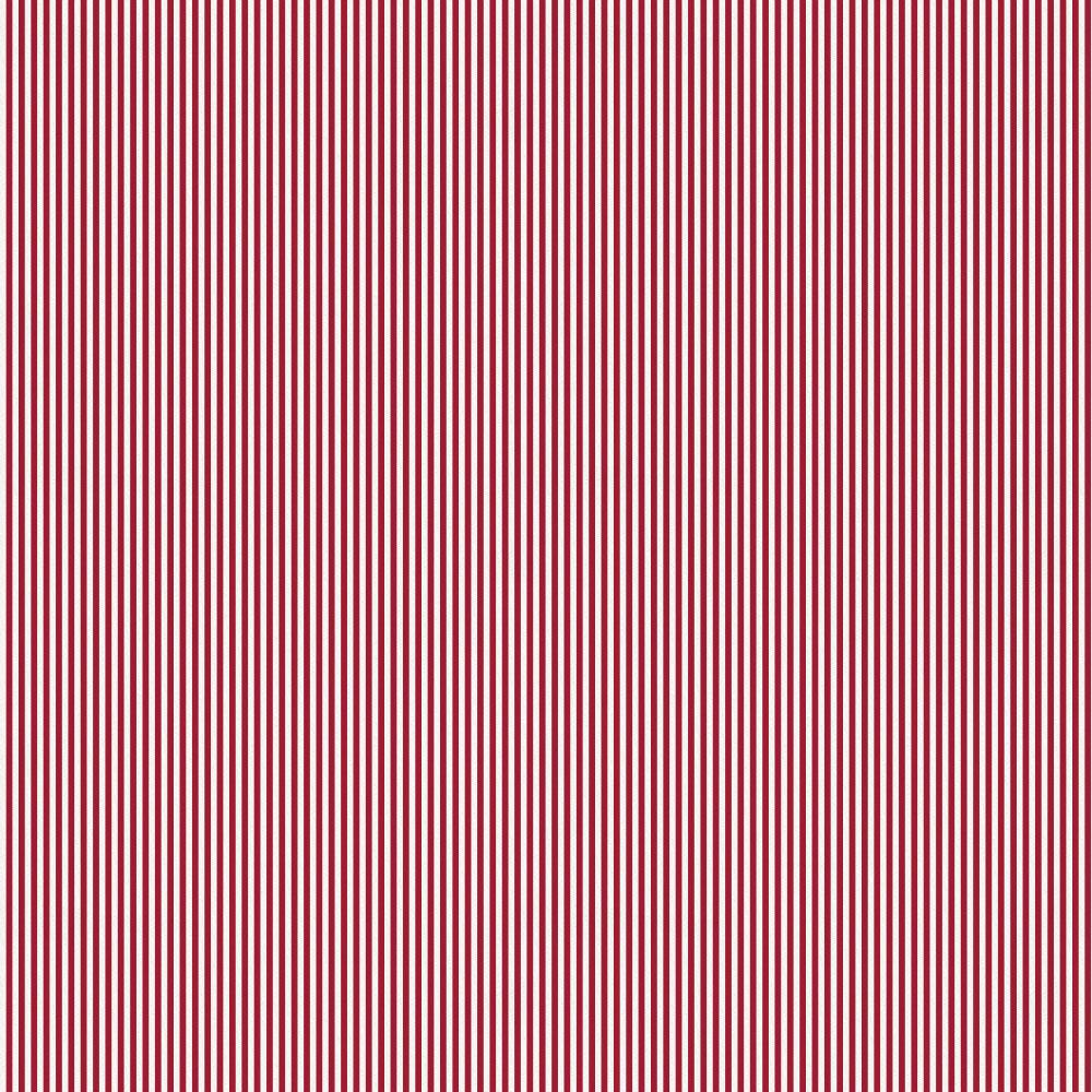 Product image for Crimson Mini Stripe Drape Panel