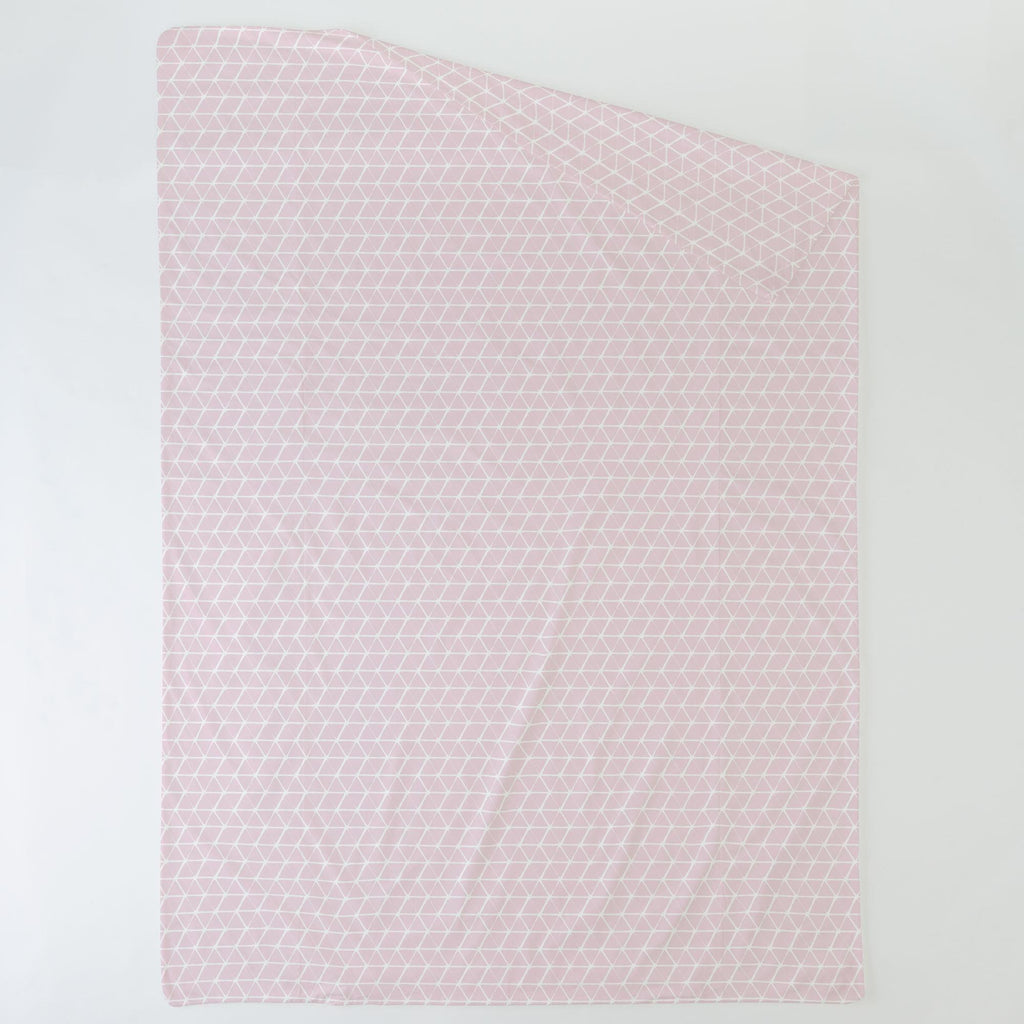 Product image for Pink Aztec Triangles Duvet Cover