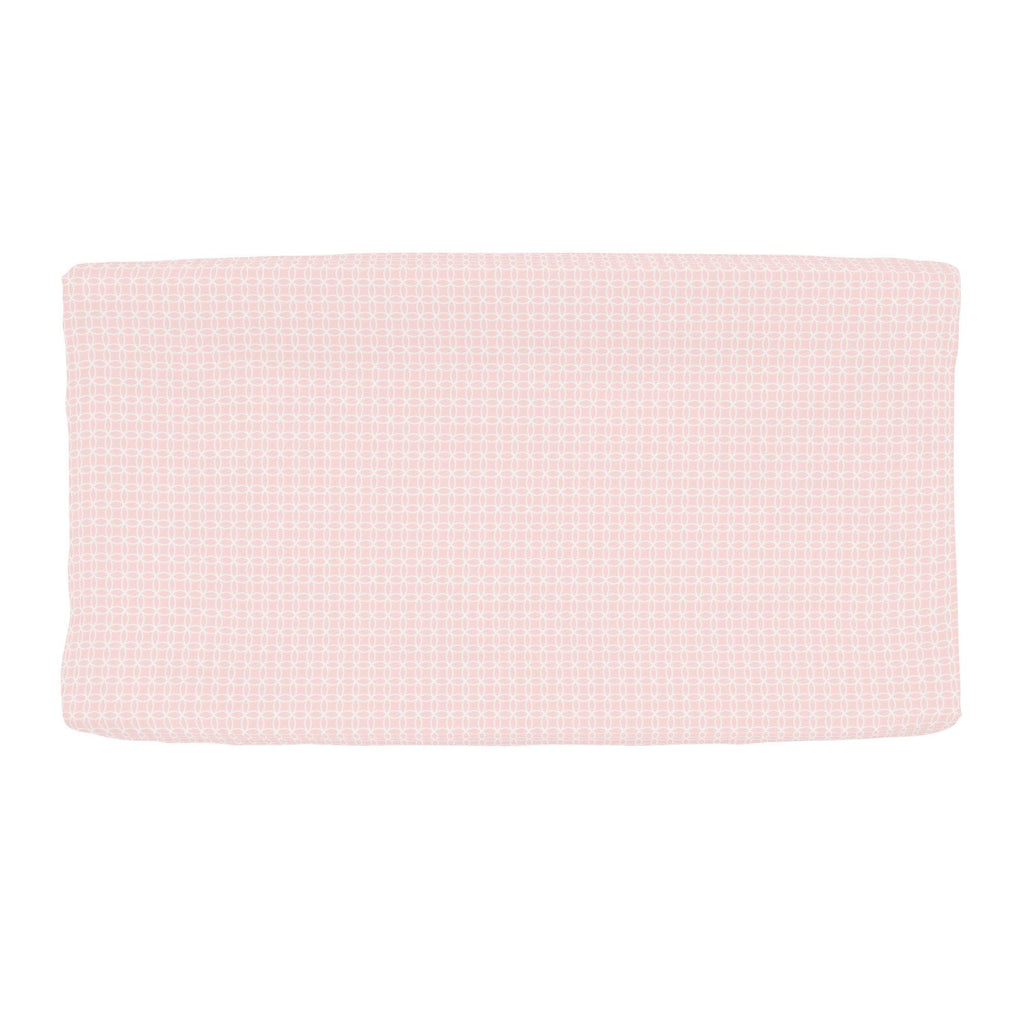 Product image for Pink Circles Changing Pad Cover