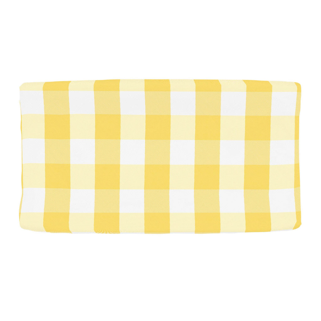 Product image for Saffron Buffalo Check Changing Pad Cover