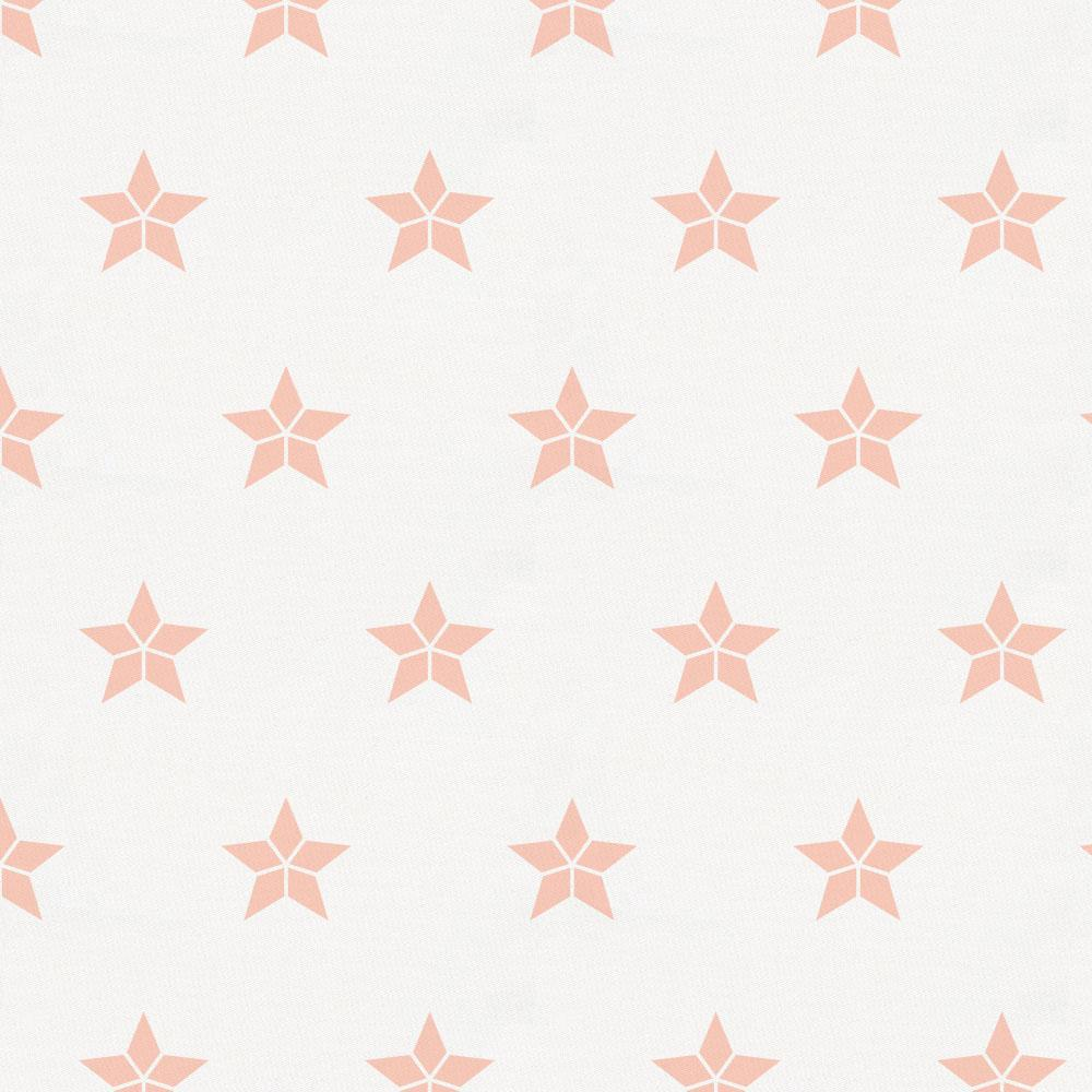 Product image for Peach Mosaic Stars Accent Pillow
