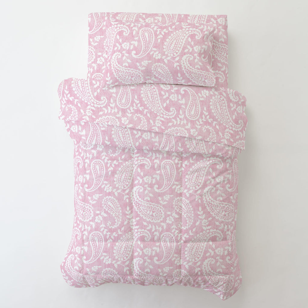 Product image for Pink Paisley Toddler Comforter