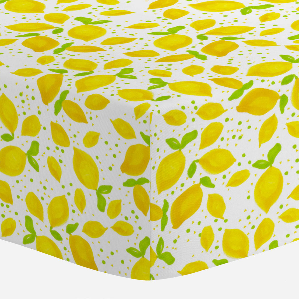 Product image for Little Lemons Mini Crib Sheet
