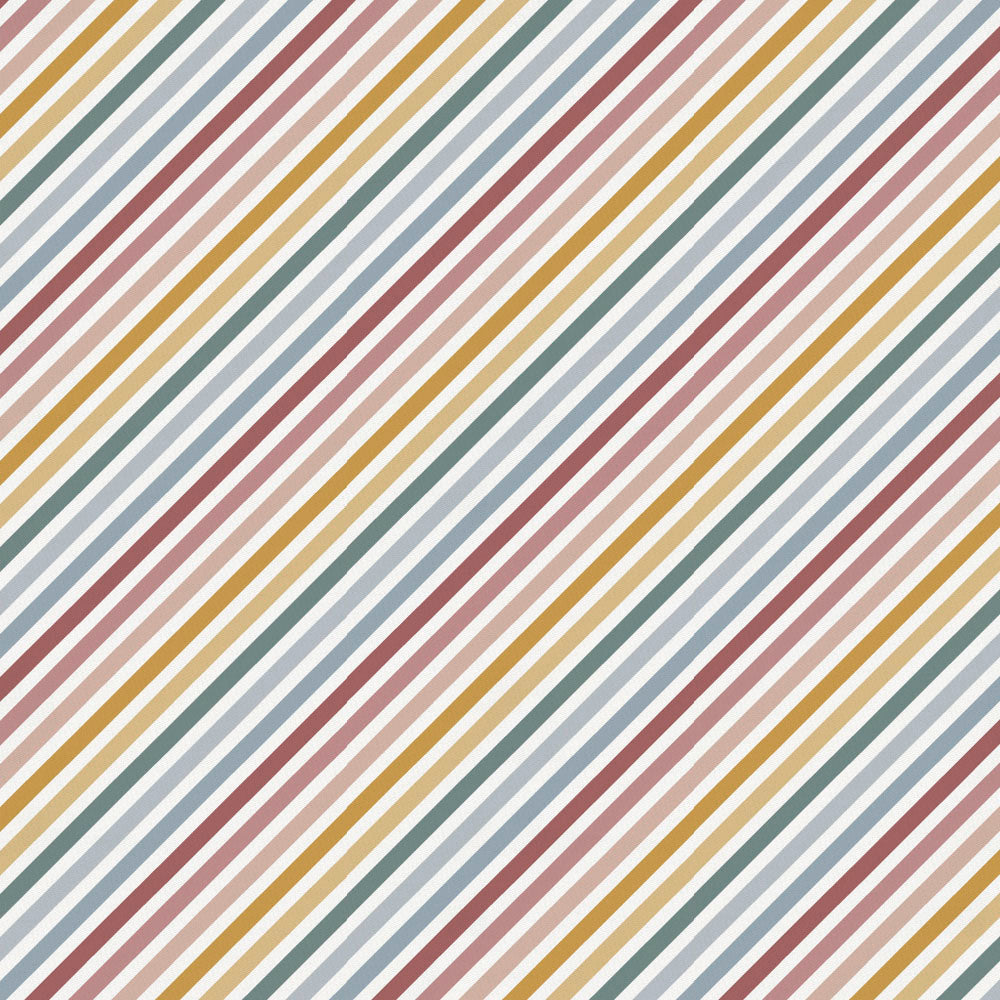Product image for Soft Rainbow Stripe Drape Panel