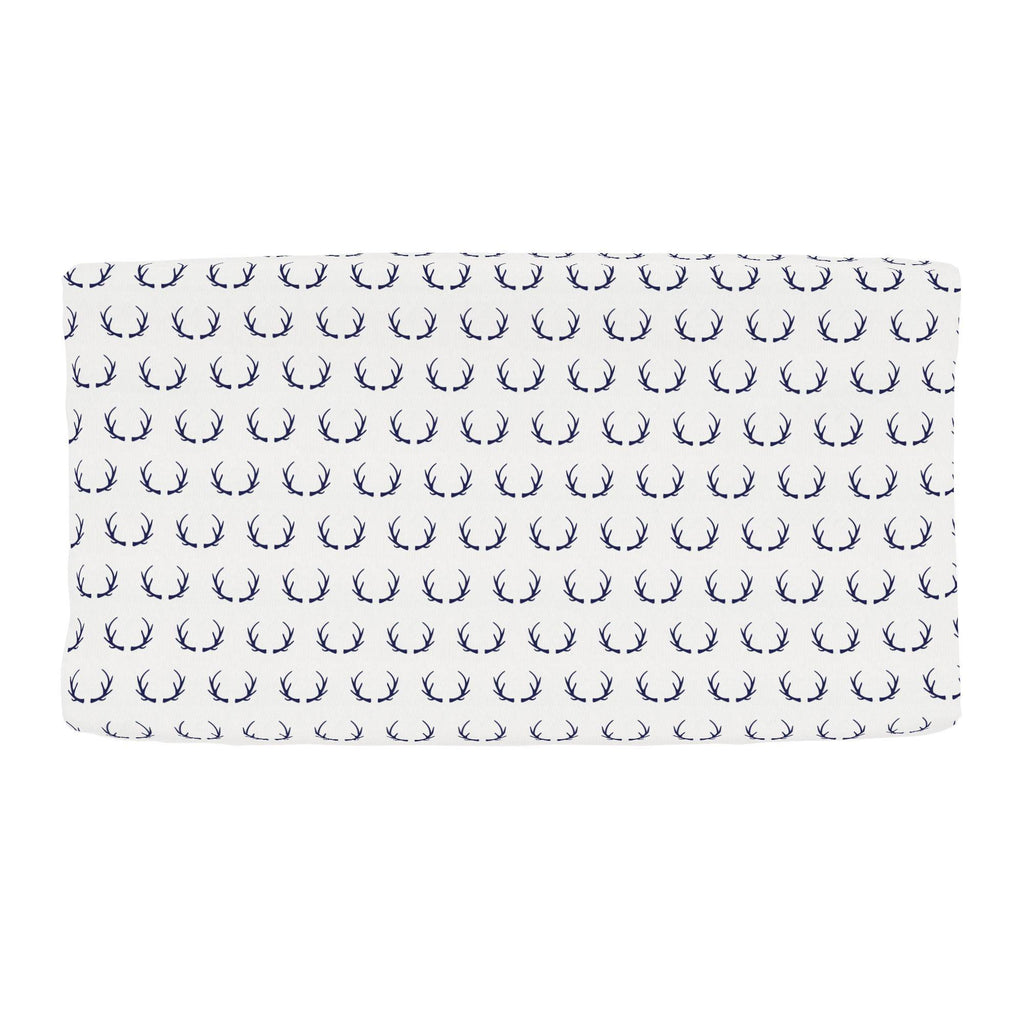 Product image for Windsor Navy Antlers Changing Pad Cover