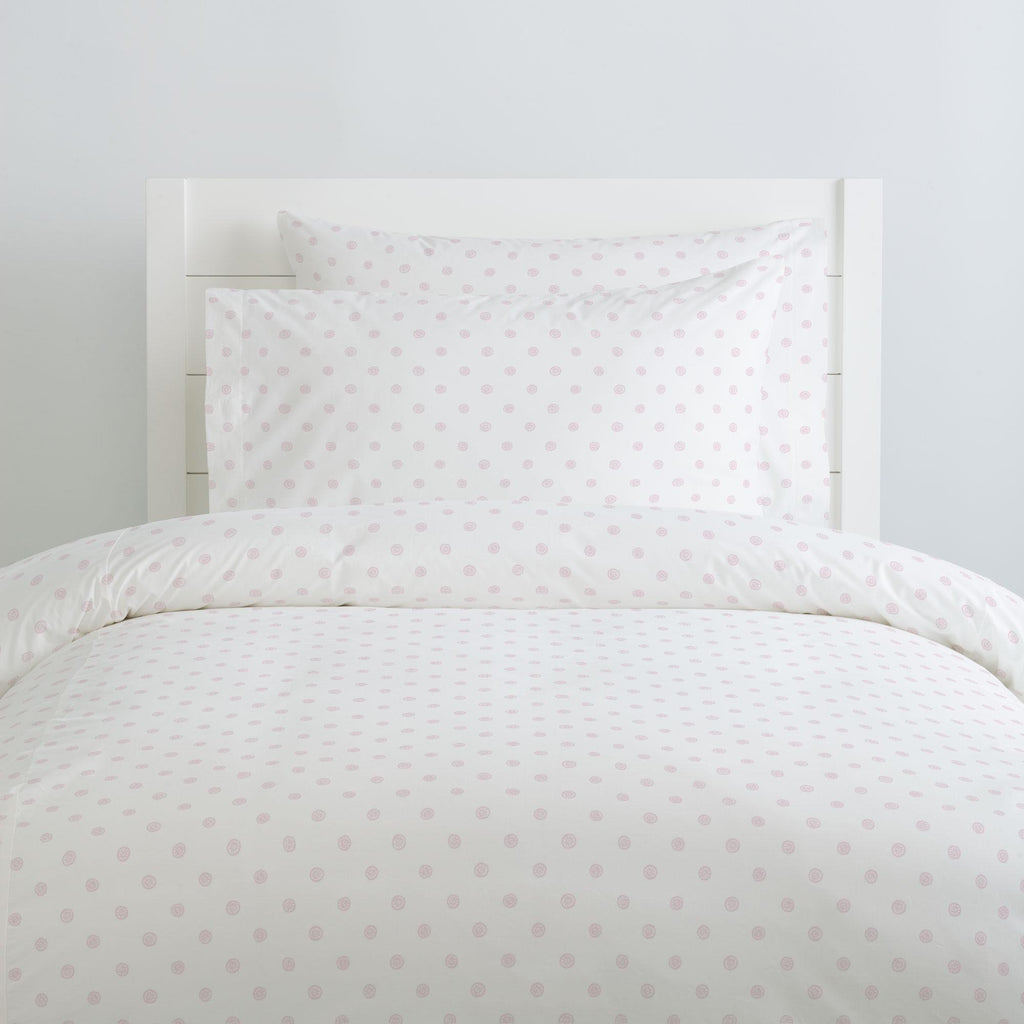 Product image for Pink Ditsy Dot Pillow Case