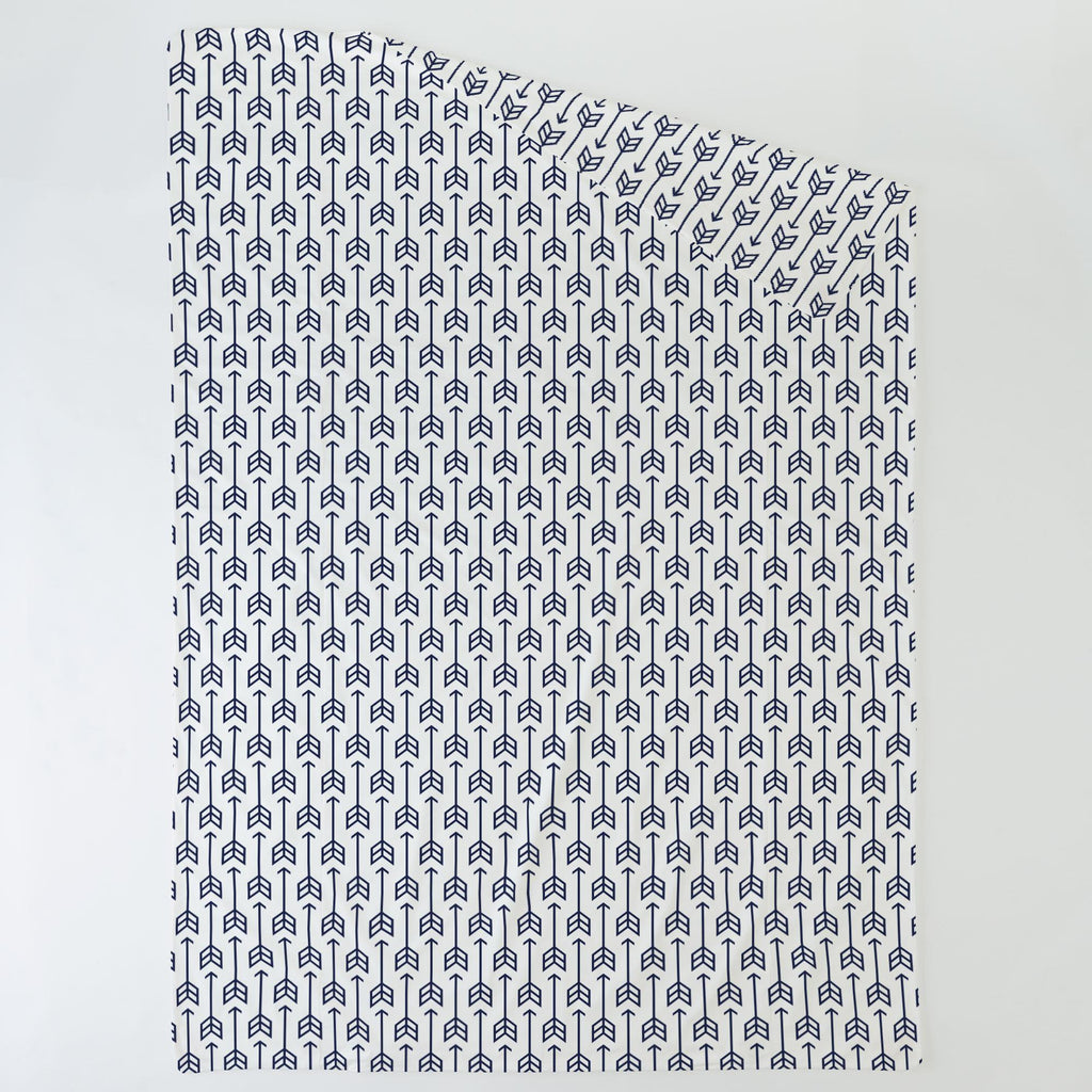 Product image for Navy Arrow Duvet Cover